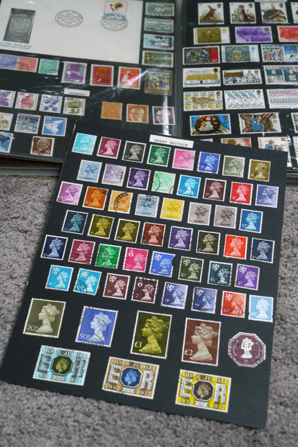 Stamp collection 1050708 BLOG