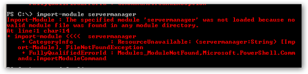 serverManagerWasNotLoaded